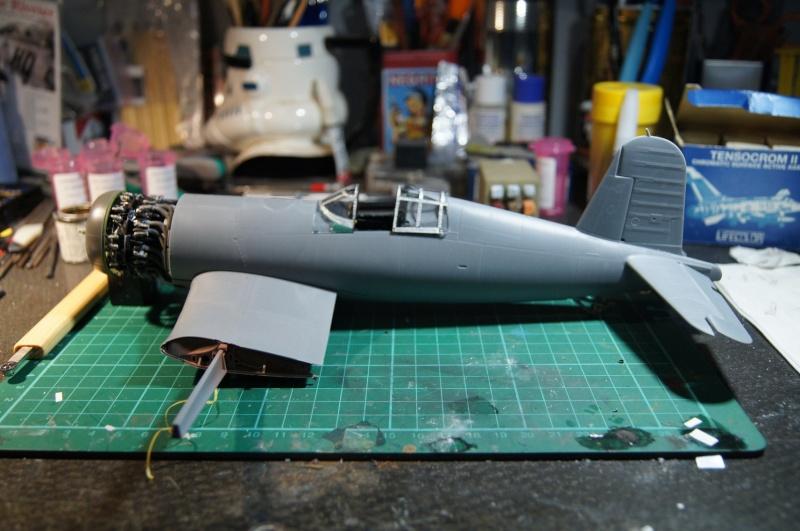 Pratt & Whitney R-2800, 1/32, ... Pour Corsair Tamiya. Resin Brassin + Barracuda ...+ scratch et métal usiné. - Page 4 Dsc04941