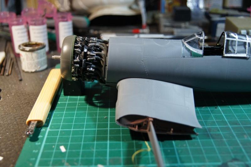 Pratt & Whitney R-2800, 1/32, ... Pour Corsair Tamiya. Resin Brassin + Barracuda ...+ scratch et métal usiné. - Page 4 Dsc04942