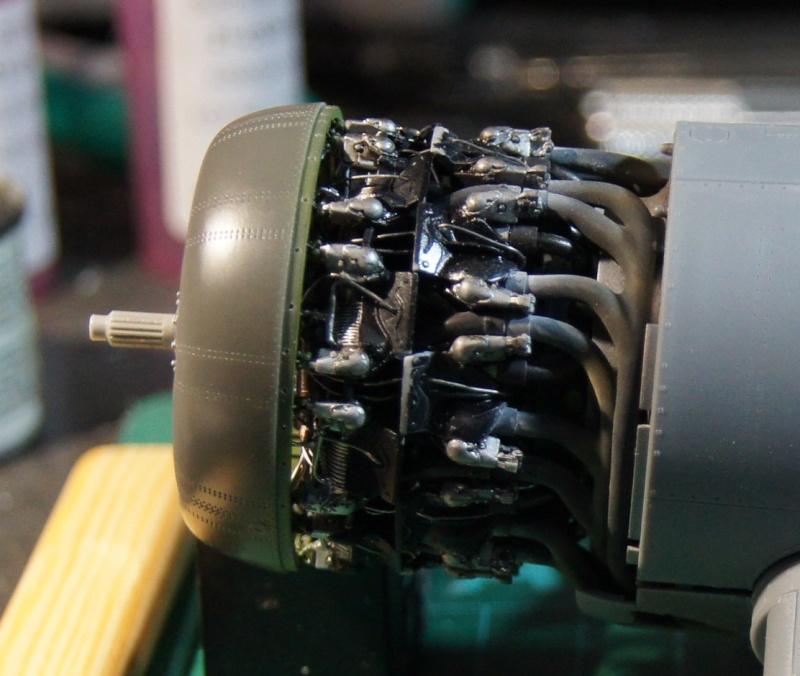 Pratt & Whitney R-2800, 1/32, ... Pour Corsair Tamiya. Resin Brassin + Barracuda ...+ scratch et métal usiné. - Page 4 Dsc04943