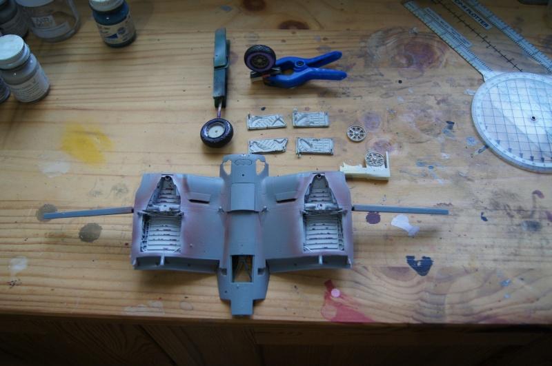 Pratt & Whitney R-2800, 1/32, ... Pour Corsair Tamiya. Resin Brassin + Barracuda ...+ scratch et métal usiné. - Page 4 Dsc04944