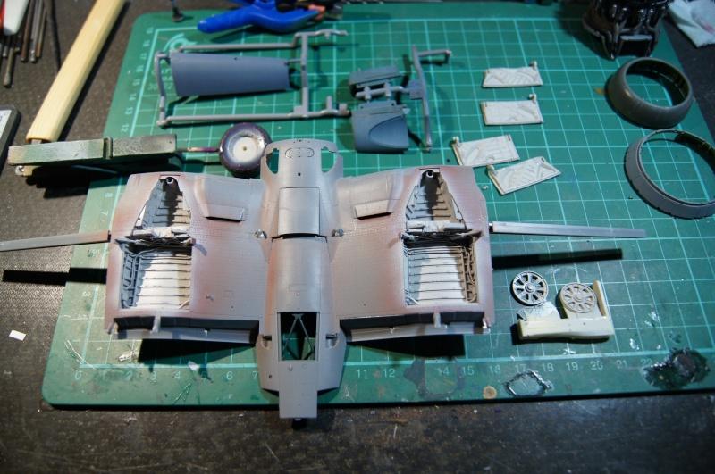 Pratt & Whitney R-2800, 1/32, ... Pour Corsair Tamiya. Resin Brassin + Barracuda ...+ scratch et métal usiné. - Page 4 Dsc04953