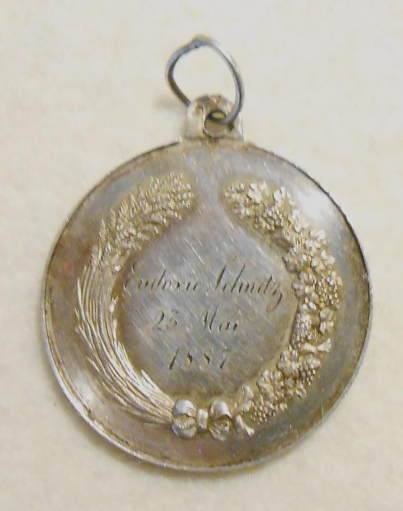 2 très jolies médailles XIXème   Dscn1811