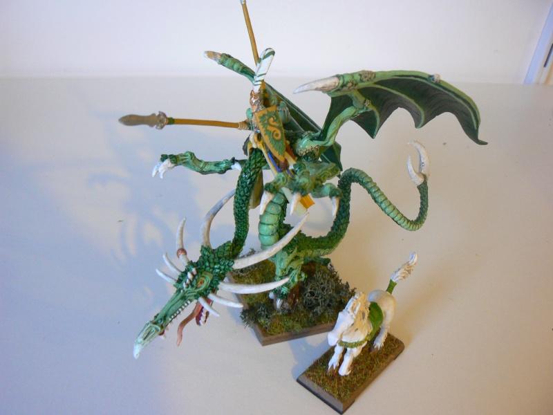 Mon Armée Elfes Sylvains 1c10
