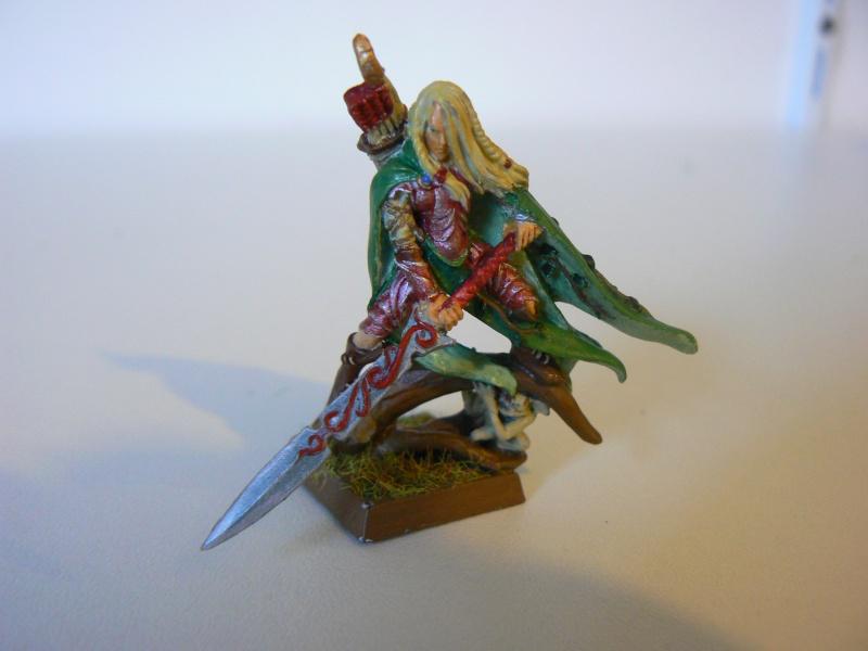 Mon Armée Elfes Sylvains 1l10
