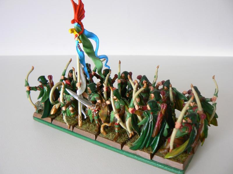 Mon Armée Elfes Sylvains A12