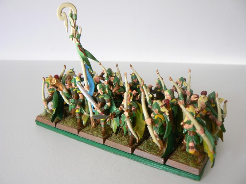 Mon Armée Elfes Sylvains B12