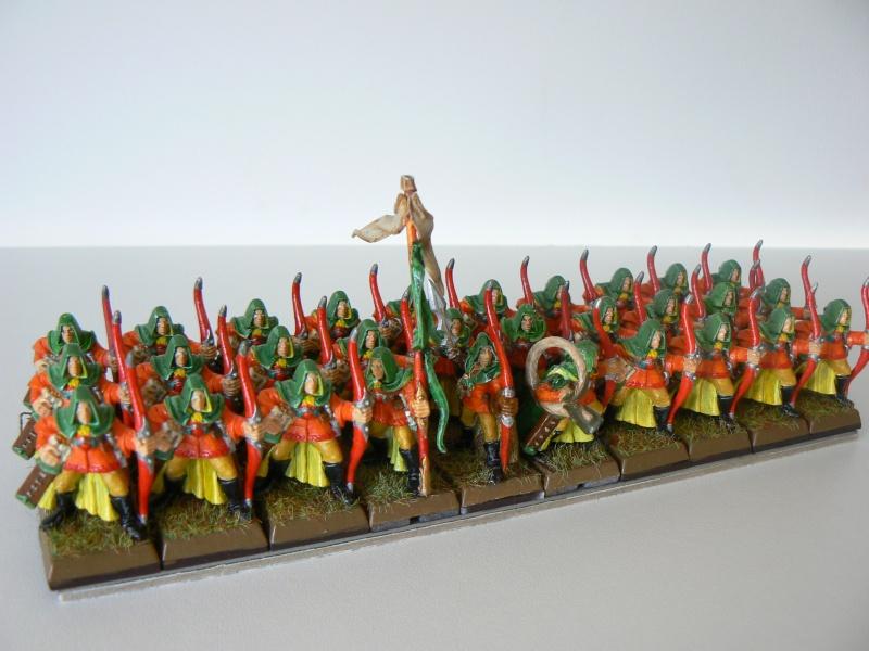 Mon Armée Elfes Sylvains C13