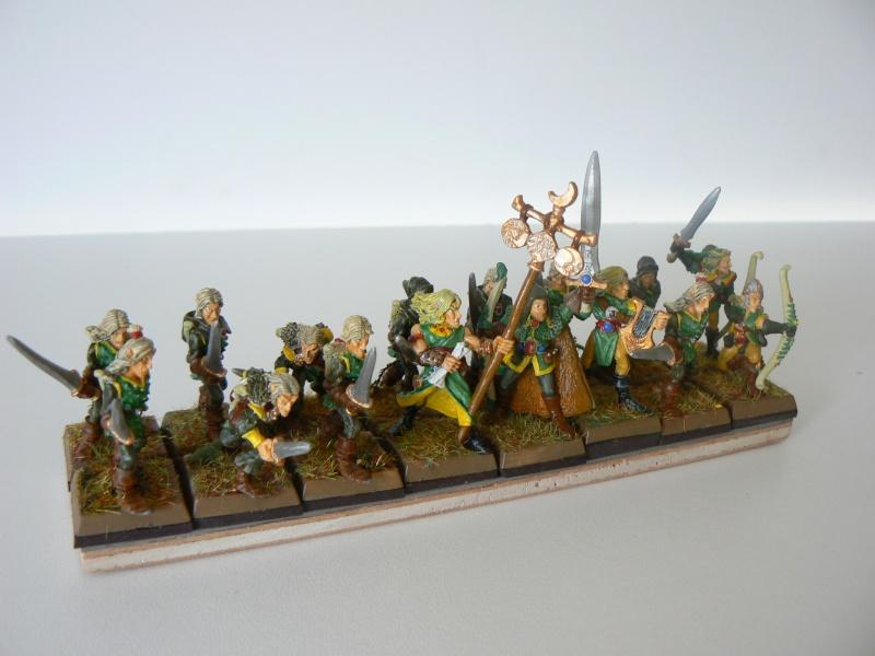 Mon Armée Elfes Sylvains D12