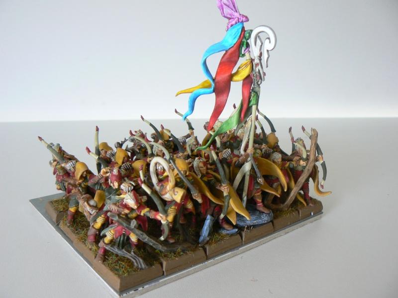 Mon Armée Elfes Sylvains F12