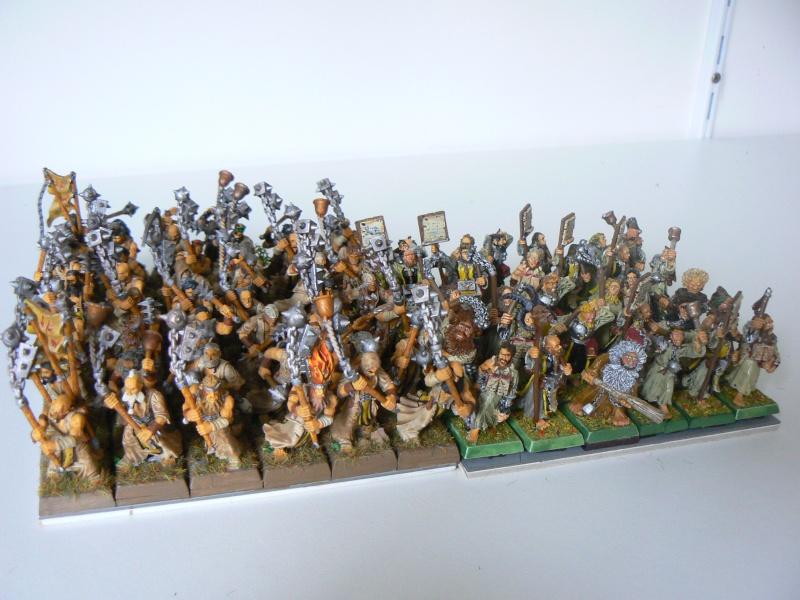 Peinture figurine de l'Empire, de renom et autres. Flagel12