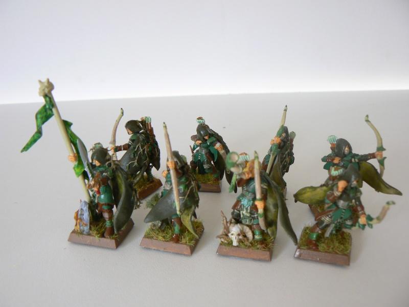 Mon Armée Elfes Sylvains H12