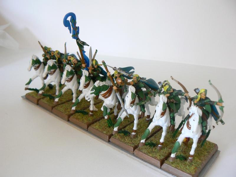 Mon Armée Elfes Sylvains J10