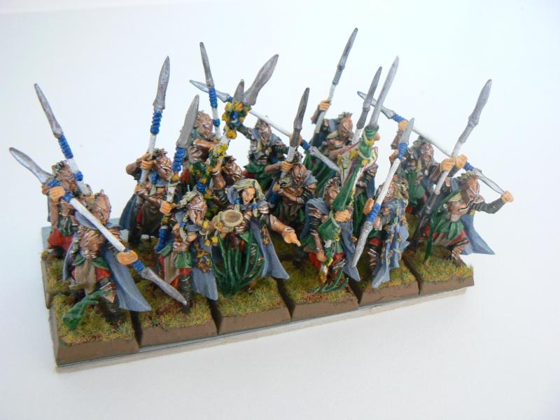 Mon Armée Elfes Sylvains R10