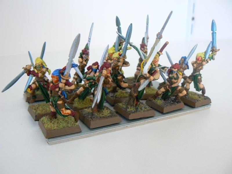 Mon Armée Elfes Sylvains S10