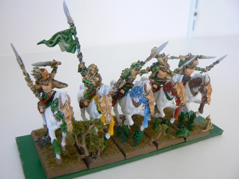 Mon Armée Elfes Sylvains W10