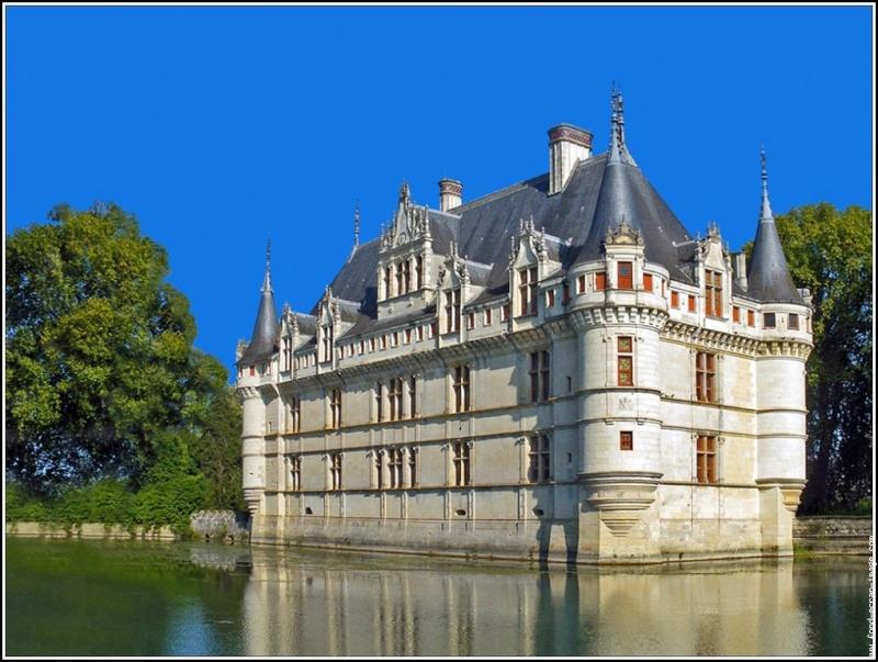 Quelques châteaux de la Loire Azay_l10