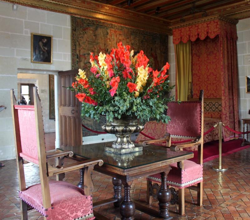 Quelques châteaux de la Loire Chambr17
