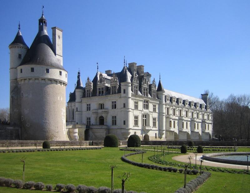 Quelques châteaux de la Loire Chenon10