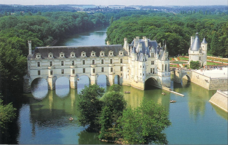 Quelques châteaux de la Loire Chenon11