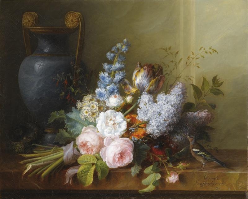 Les peintres et les fleurs Cornel10