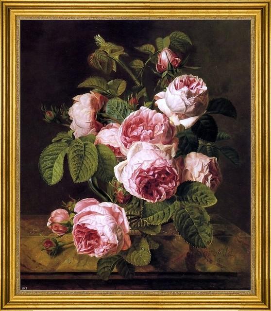 Les peintres et les fleurs Tradit10