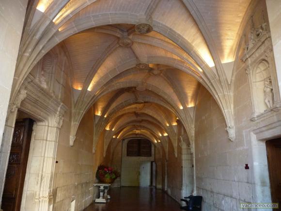 Quelques châteaux de la Loire Vestib10