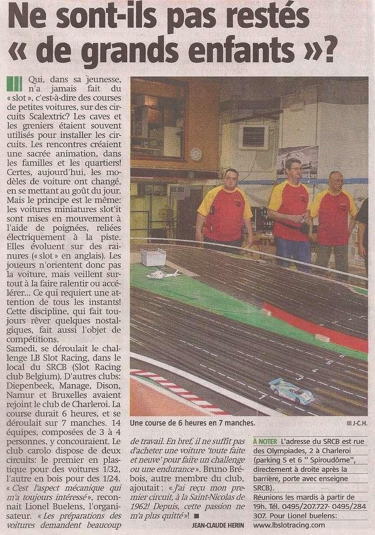Le SRCB dans la nouvelle gazette... Articl10
