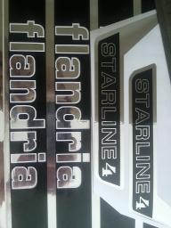 NEW ADHESIF / STICKERS / AUTOCOLLANT FLANDRIA MALAGUTI ROCVALE ETC.. Image010