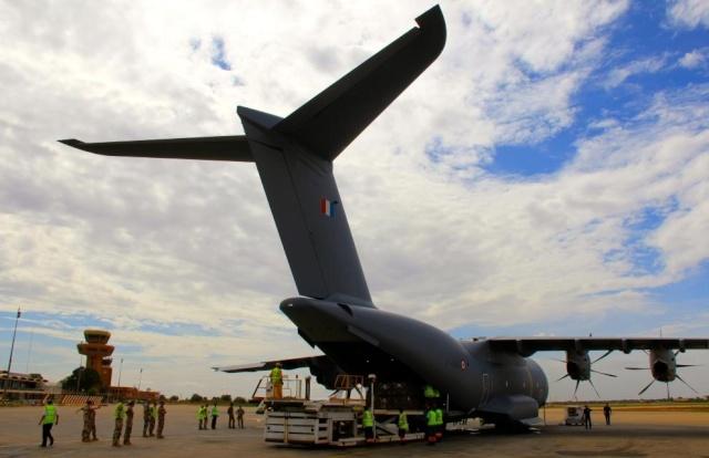 La première mission opérationnelle de l'A400M 2014an10