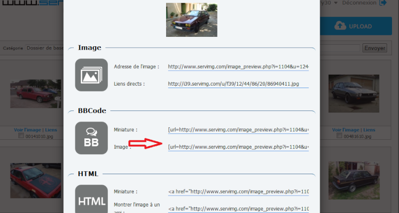 Comment inserer vos photos sur le forum avec serving Sans_t21