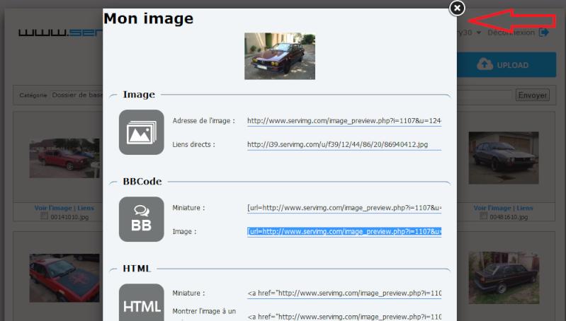 Comment inserer vos photos sur le forum avec serving Sans_t24