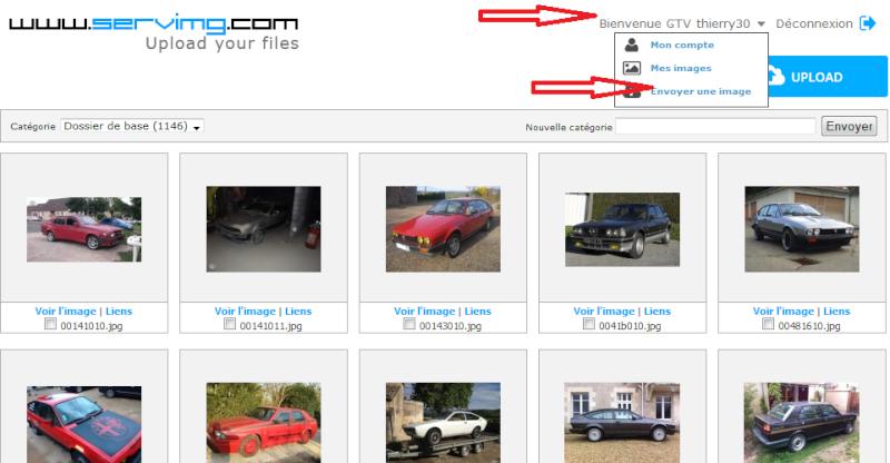 Comment inserer vos photos sur le forum avec serving Sans_t25