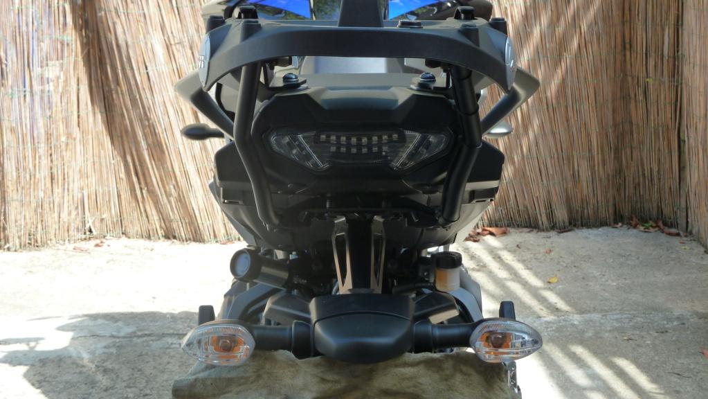 Nouveautée GIVI support top case Tracer 900 ( GT ) 2018 P1060913