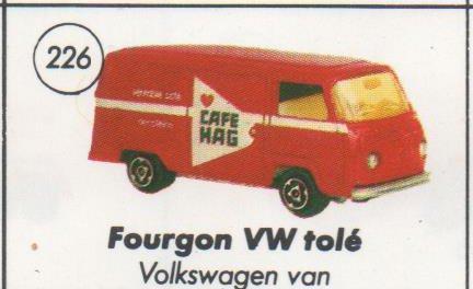 N°244 Volkswagen Fourgon VITRÉ Vw22610
