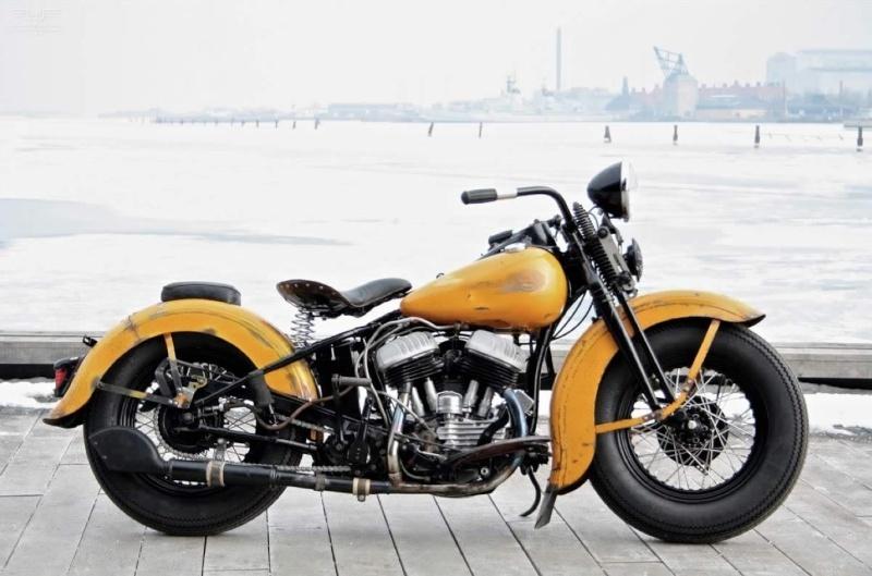 Les vieilles Harley....(ante 84) par Forum Passion-Harley - Page 40 1_viei40