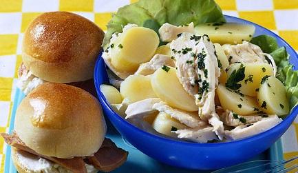 Patate in cucina Insala11