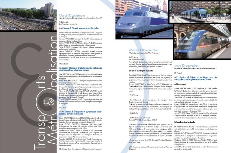 10-12 septembre 2013- TOULOUSE- Transports et Métropolisation Transp11