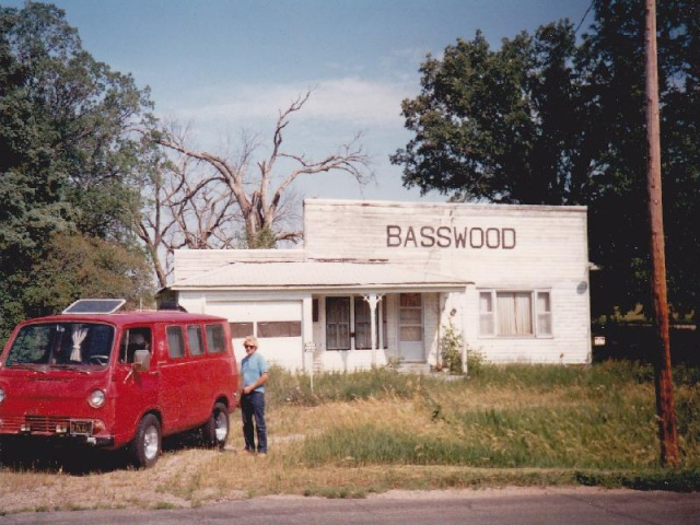 Road Trip in 66 Chevy Van - 30 years ago! Basswo10