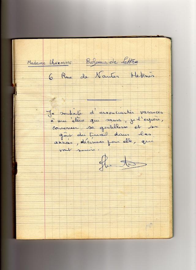 Institut Notre Dame - Collège de Jeunes Filles Cahier11