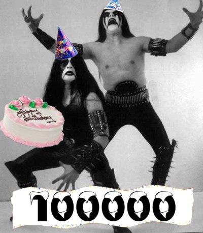 3 ans et 100 000 messages ! Blackm11
