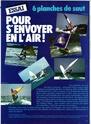 SIX PLANCHES DE FUNBOARD ESSAI 1981 Pl110