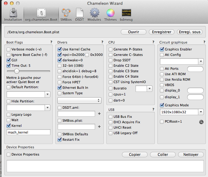 Probleme carte graphics apres derniere mise ajour MAVERICK sur Gigabyte Z87X-D3H Captur10