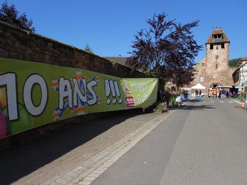 10 ème édition du Marathon du Vignoble d'Alsace et son passage à Wangen le 15 juin 2014 10307310