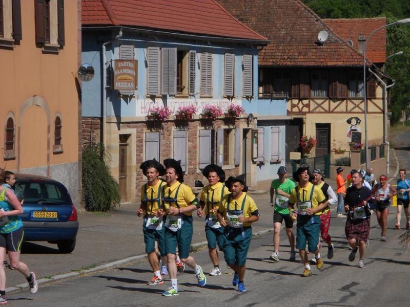 10 ème édition du Marathon du Vignoble d'Alsace et son passage à Wangen le 15 juin 2014 10347210