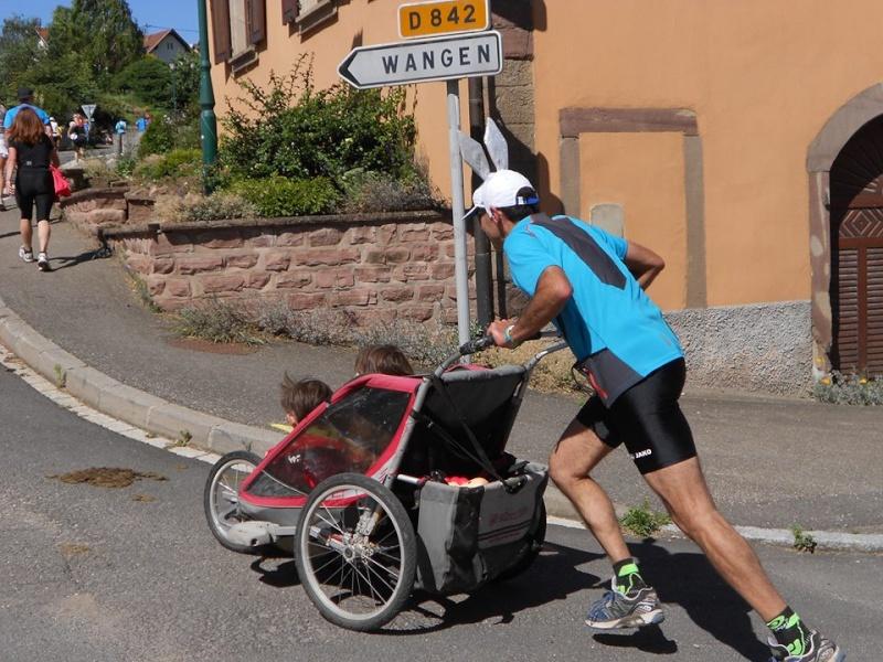 10 ème édition du Marathon du Vignoble d'Alsace et son passage à Wangen le 15 juin 2014 10405210