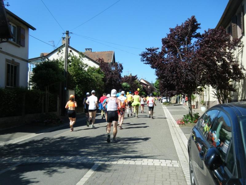 10 ème édition du Marathon du Vignoble d'Alsace et son passage à Wangen le 15 juin 2014 Dscf1019