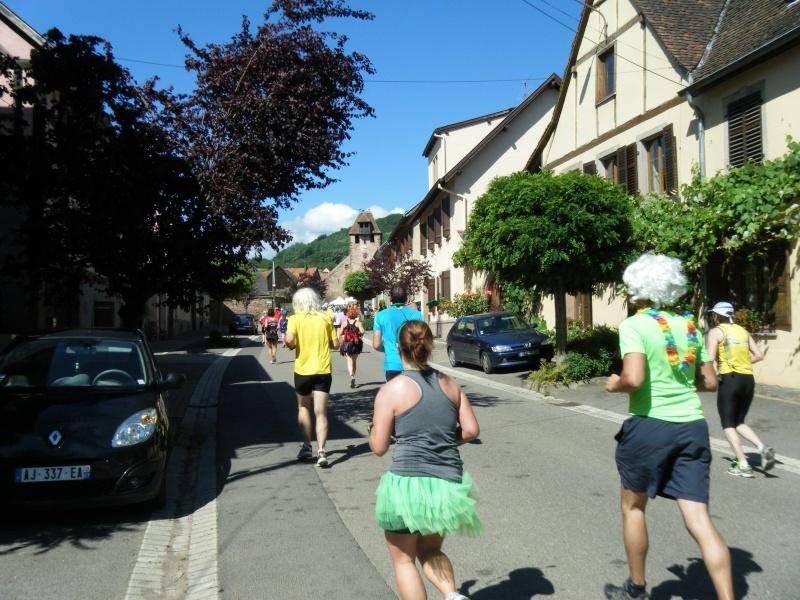 10 ème édition du Marathon du Vignoble d'Alsace et son passage à Wangen le 15 juin 2014 Dscf1020