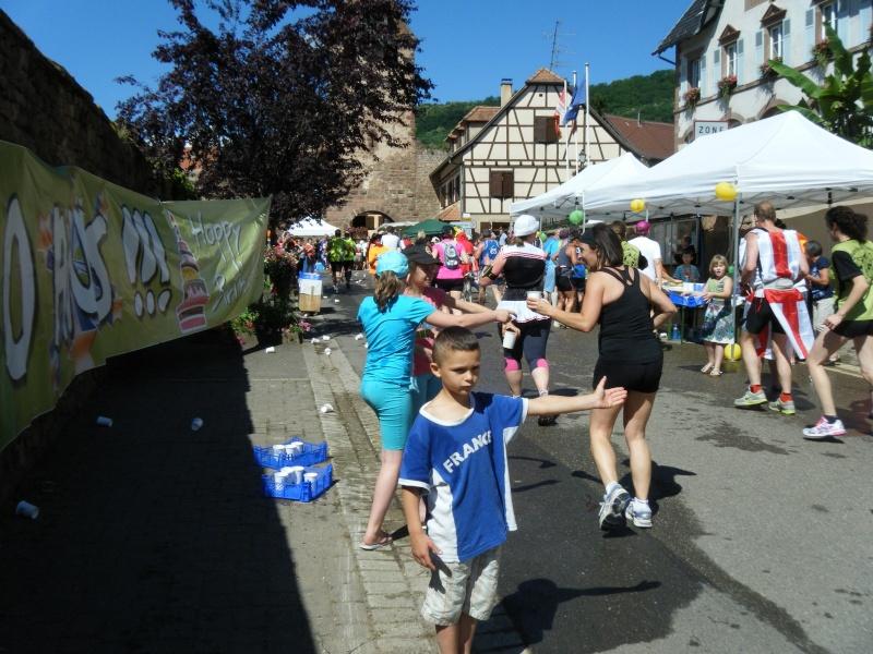 10 ème édition du Marathon du Vignoble d'Alsace et son passage à Wangen le 15 juin 2014 Dscf1023
