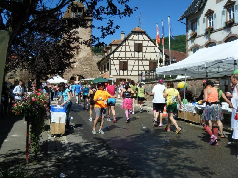 10 ème édition du Marathon du Vignoble d'Alsace et son passage à Wangen le 15 juin 2014 Dscf1025
