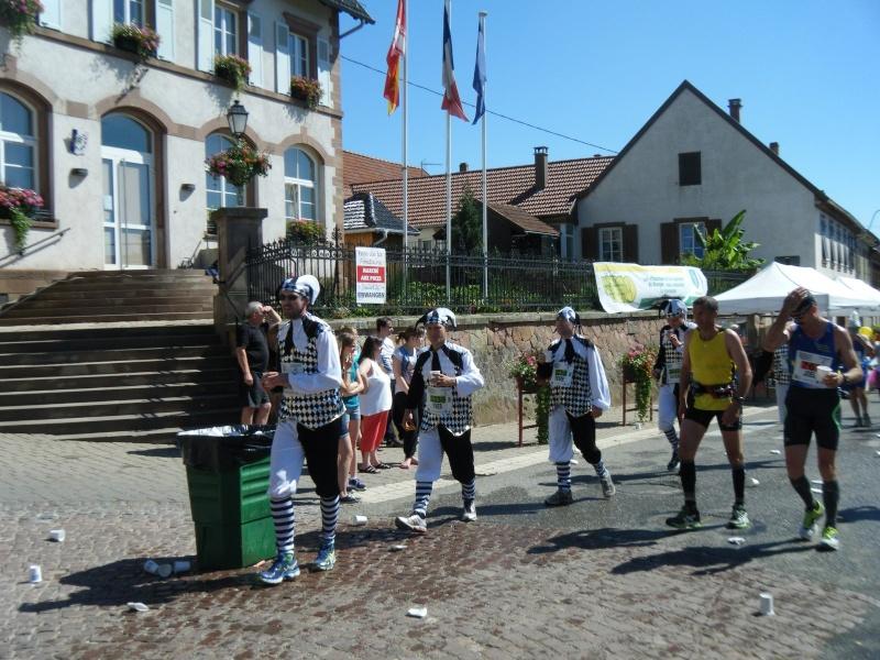 10 ème édition du Marathon du Vignoble d'Alsace et son passage à Wangen le 15 juin 2014 Dscf1028